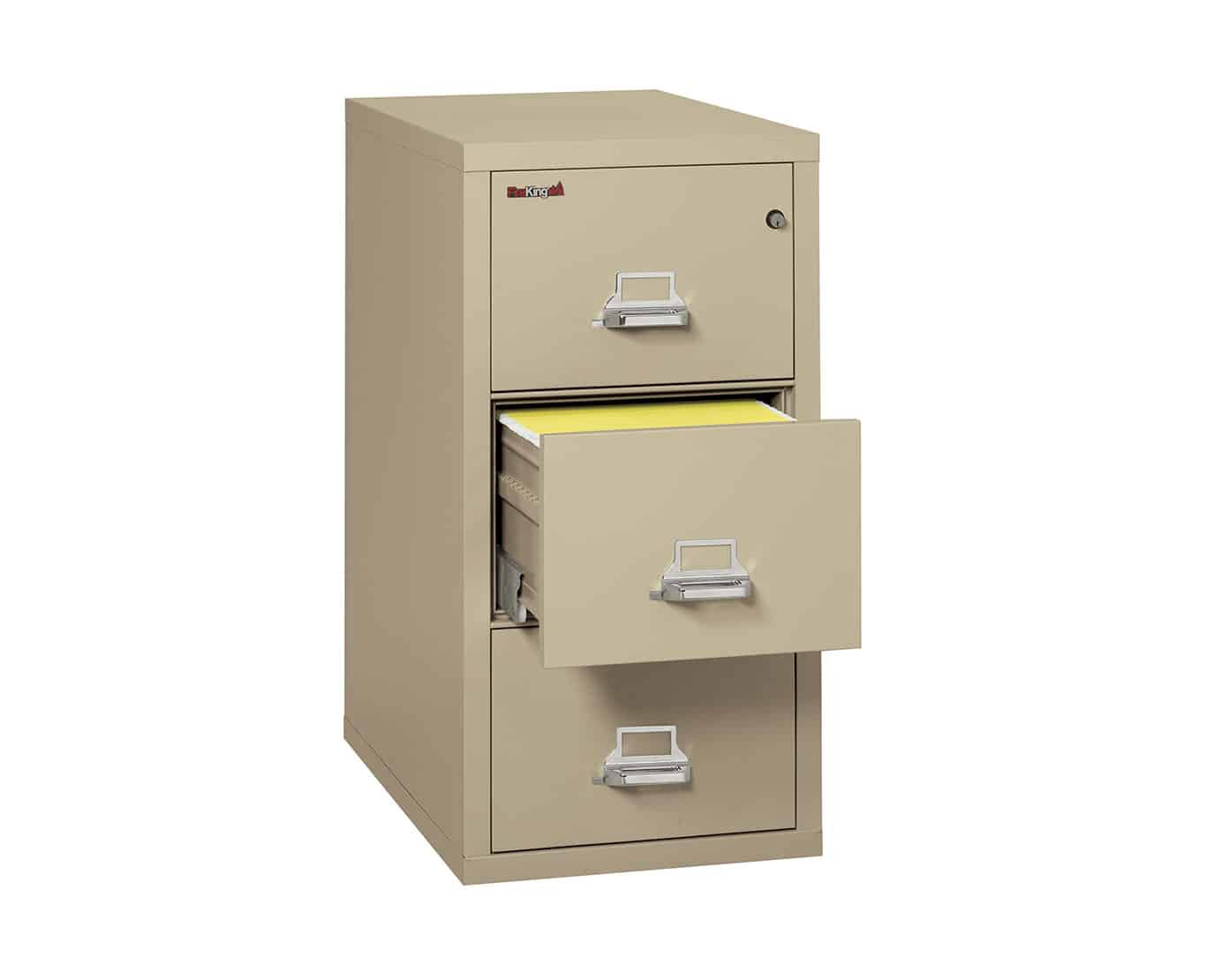 FireKing Vertical File Cabinet 3-2131-C (3 Drawer Legal ...